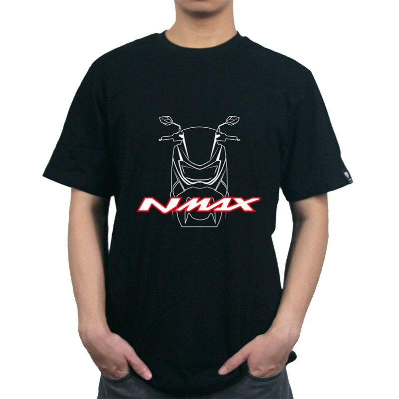 KODASKIN For YAMAHA NMAX N M A X Fashion Confortable Motocycle Stylish New Style Top Tees Solid Hot Sale Pure Contton O-neck