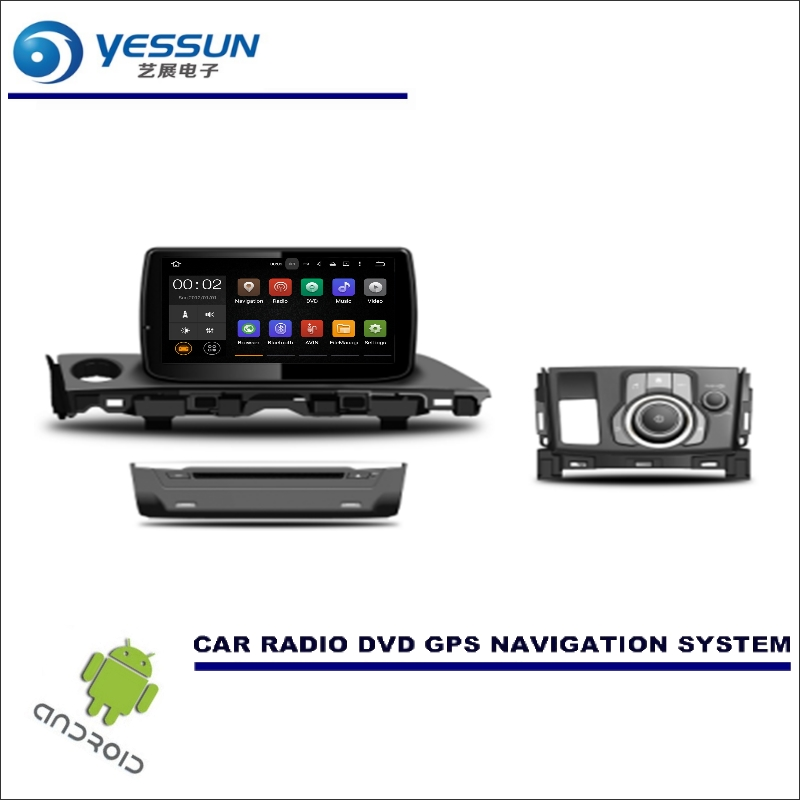 YESSUN Car Multimedia Navigation System For Mazda 6 / Atenza 2017 CD DVD GPS Player Navi Radio Stereo Wince / Android