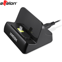 Effelon type c charging dock pour samsung galaxy s8 huawei mate 9 xiaomi 5 m5 4c oneplus 2 3 lumia 950 station d'accueil chargeur