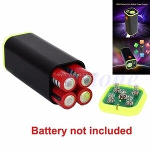 Image 3 - Usbモバイル電源銀行4 × 18650バッテリー充電器ボックスケースホルダーwhosale & ドロップシップ