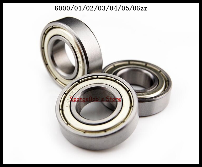 6pcs/Lot 6006ZZ 6006 ZZ 30x55x13mm Mini Ball Bearing Miniature Bearing Deep Groove Ball Bearing