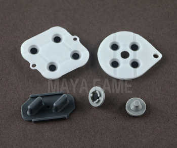 OCGAME For SNES Super NES Nintendo Conductive Replacement Controller Rubber Pads 50sets/lot
