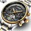 Mens Watches Top Brand LIGE Luxury Men Fashion Business Automatic Watch Man Full Steel Waterproof Clock