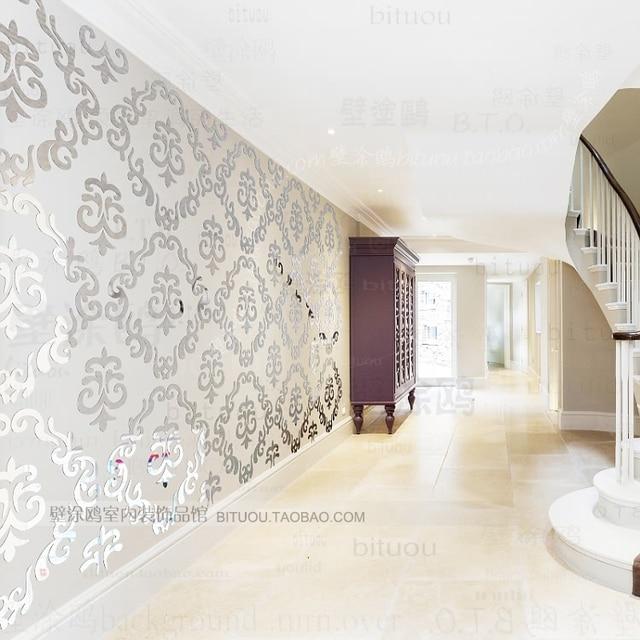 2015 ikea stijl sofa luxe behang 3d spiegel muurstickers mode ...