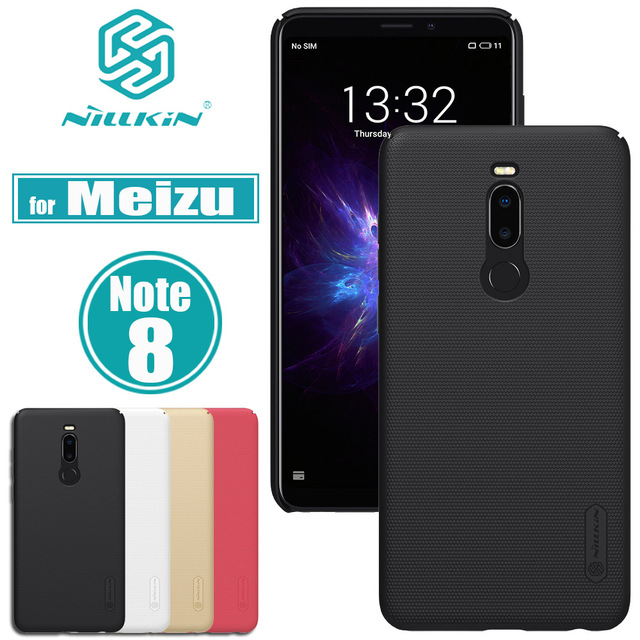 Meizu Note 8 Case Cover Nillkin Frosted Matte Shield Hard PC Plastic Smart Phone Back Protevtive Cases for Meizu Note 8 / Note8