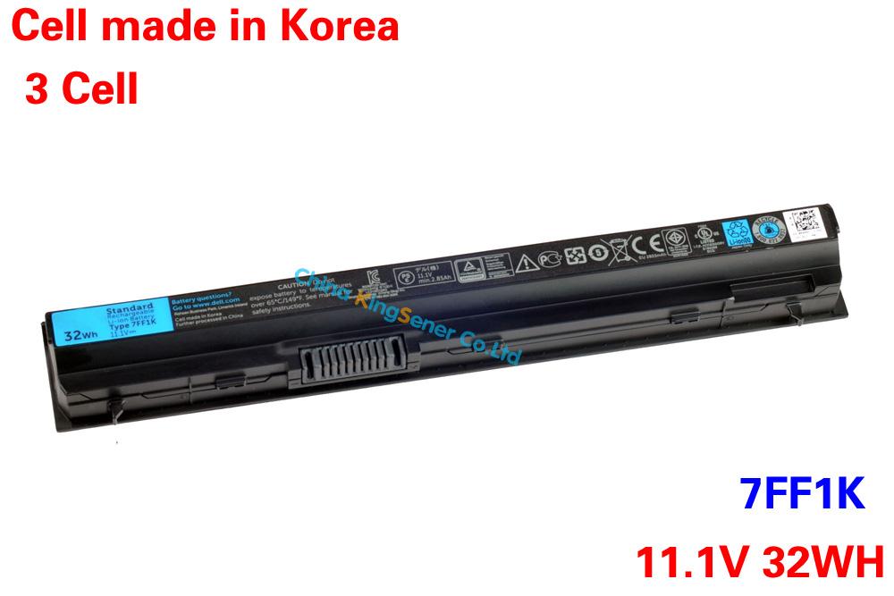 Prix pour Corée du cellulaire d'origine batterie d'ordinateur portable 7FF1K pour DELL Latitude E6120 E6220 E6230 E6320 E6330 E6430S RFJMW 11HYV 3W2YX 5 X 317 32WH