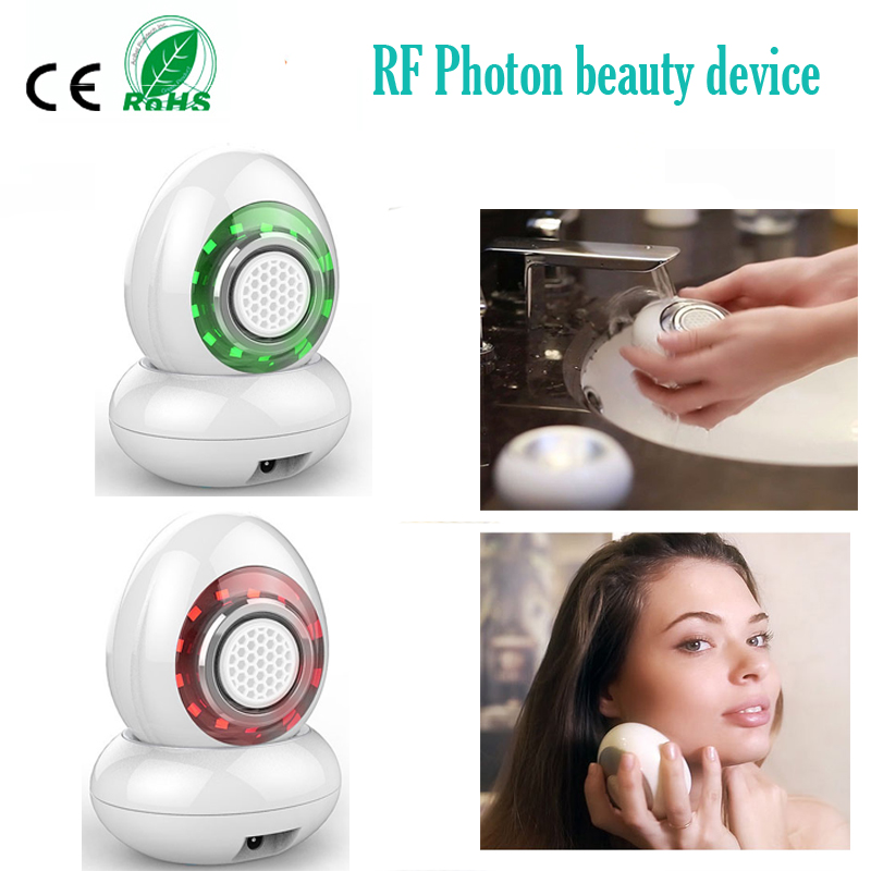 Portable Vibration RF Photon Water-Optical Wrinkle Acne Freckle Remove Skin Moisturizing Whitening Facial Firming Beauty MachinePortable Vibration RF Photon Water-Optical Wrinkle Acne Freckle Remove Skin Moisturizing Whitening Facial Firming Beauty Machine