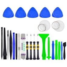 Fixparts 26 in 1 Mobile Phone Repair Tools Opening Tool Screwdriver Set for iPhone iPad Samsung tablet Cell Phone Hand Tools Set