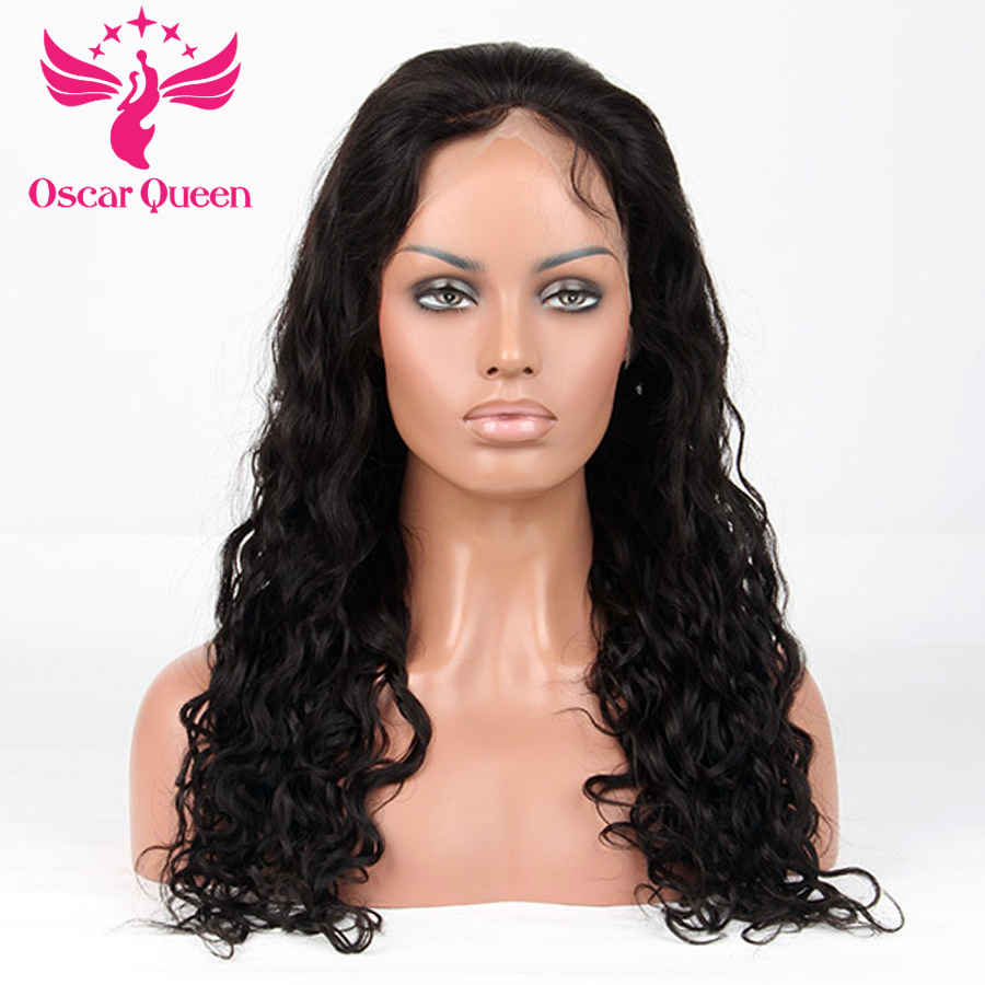 4 4 Silk Base Lace Front Human Hair Wigs Natural Wave Pre Plucked Hairline Indian Silk