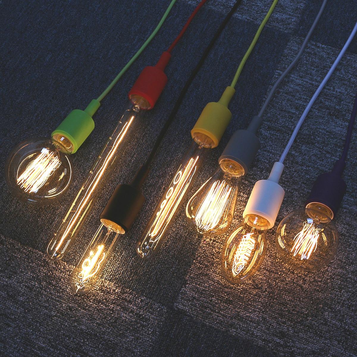 Buy Incandescent Bulb E27 40w Ac 110v T45 Tungsten: Aliexpress.com : Buy E27 40W LED Bulbs Filament Light