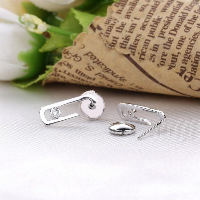 В форме сердца love оригинальный 925 стерлингового серебра двигаться