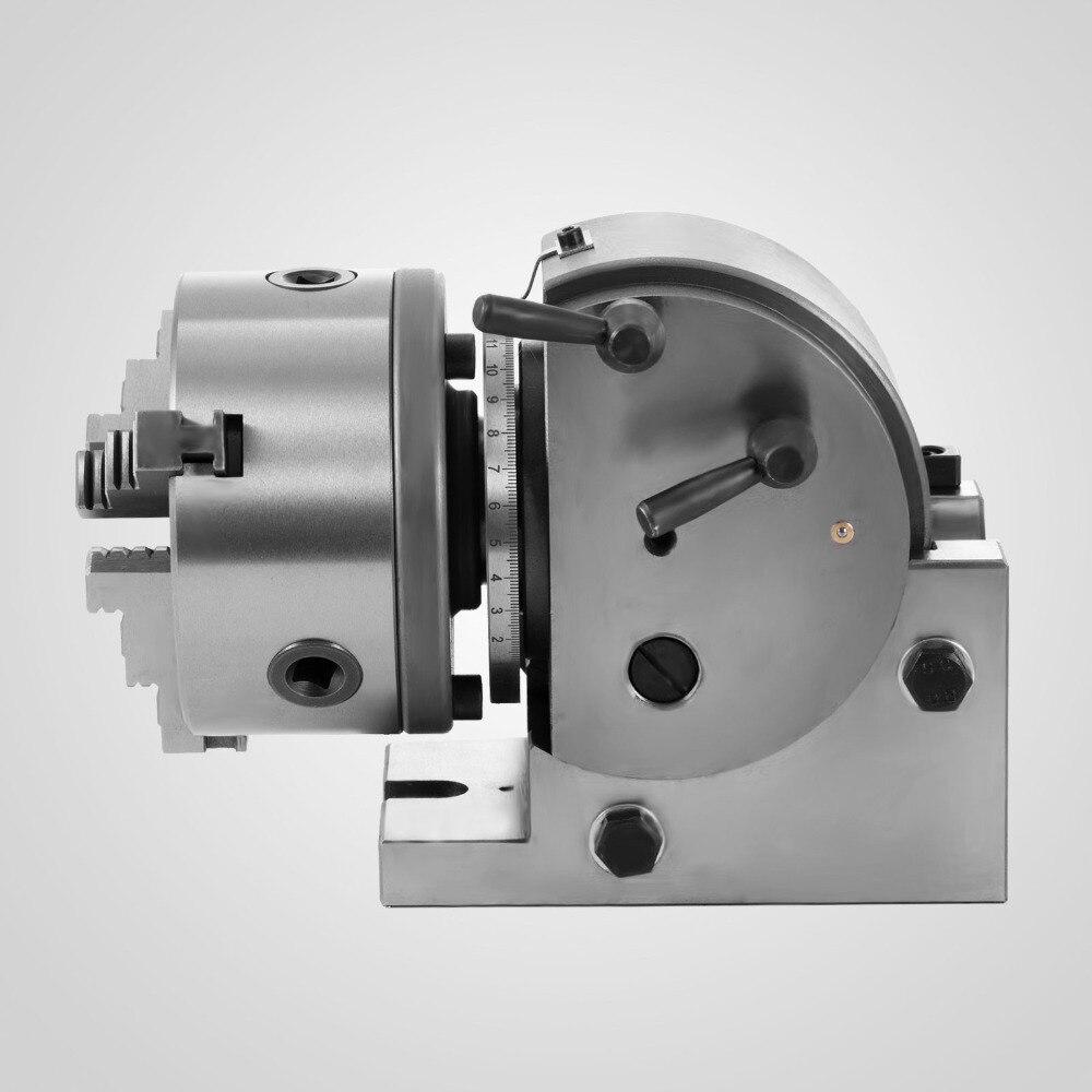 VEVOR BS-0 Precisione 'Semi Divisore Universale 3-jaw Mandrino 5 pollici