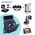 Grande saco de viagem para ps4 console de proteção de armazenamento de transporte carry case capa para sony playstation ps4 slim consola acessórios
