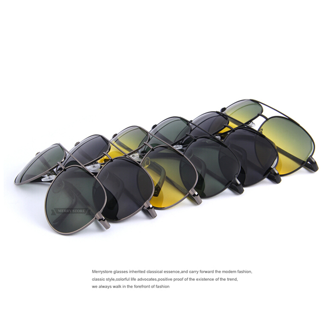 Unisex Polaroid Night Driving Sunglasses