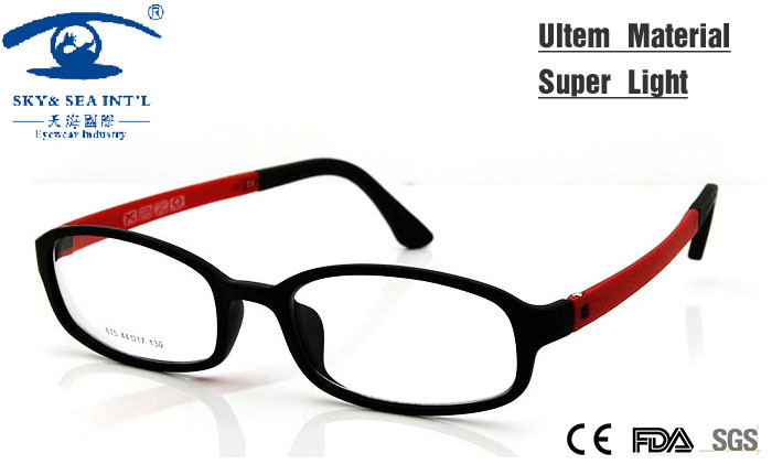 Boy Girl Eyeglasses Lightweight Flexible Eyewear Frame Children ...