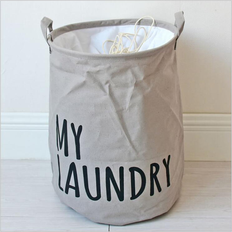 new hot laundry basket folding washing clothes storage basket linen baby toys organizer bins organizador de