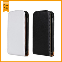 New Genuine Leather Vertical Flip Case Cover For Samsung GT S7500 S7500 Galaxy Ace Plus Magnetic