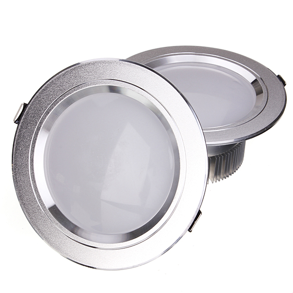 Ультра-яркий 12 Вт потолочные встраиваемые светодиодные светильники круглый/квадратный Панель свет 1150-1250lm LED Панель лампа свет