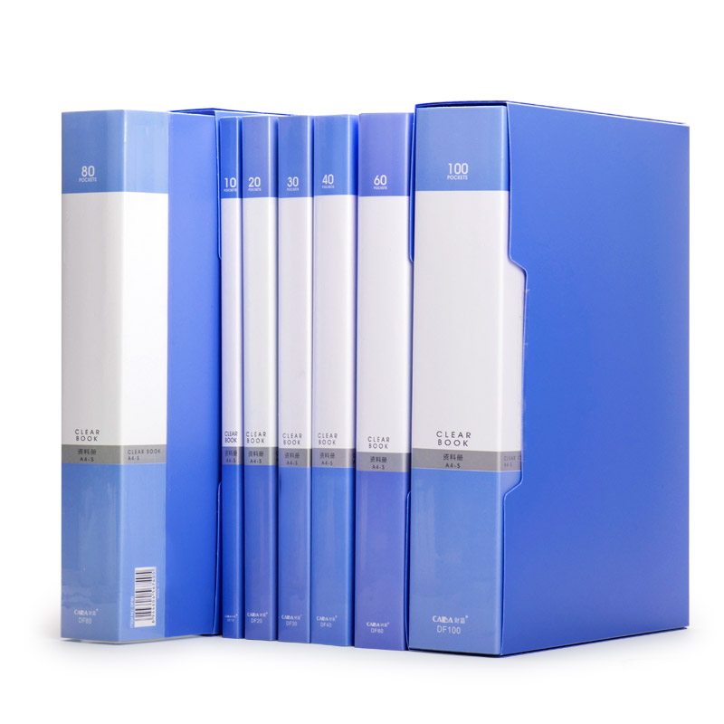 60 pocket a4 protector presentation book 120 page capacity available