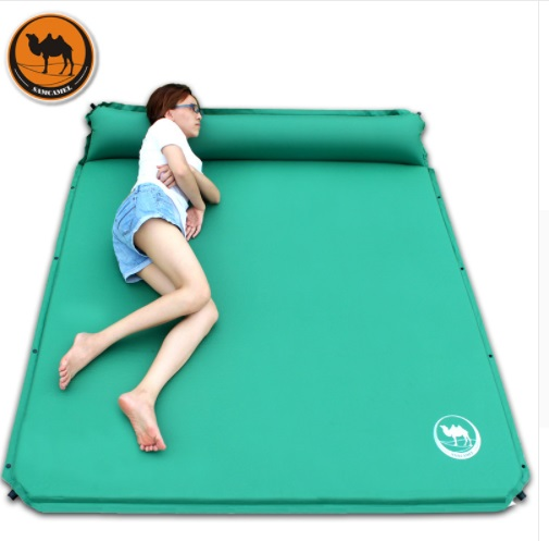 New Cs-033-3 2 Persons Broadened 160cm Automatic Inflatable Mattress Outdoor Cushion Self Inflating Party Outdoor Camping Mat