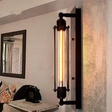 Edison Wall Lamp Vintage Industrial Lighting loft-style Living Room bedroom Restaurant Bar creative Edison Light Bulb Wall Lamp bondibon набор для творчества королева бусинка цвет желтый розовый фиолетовый