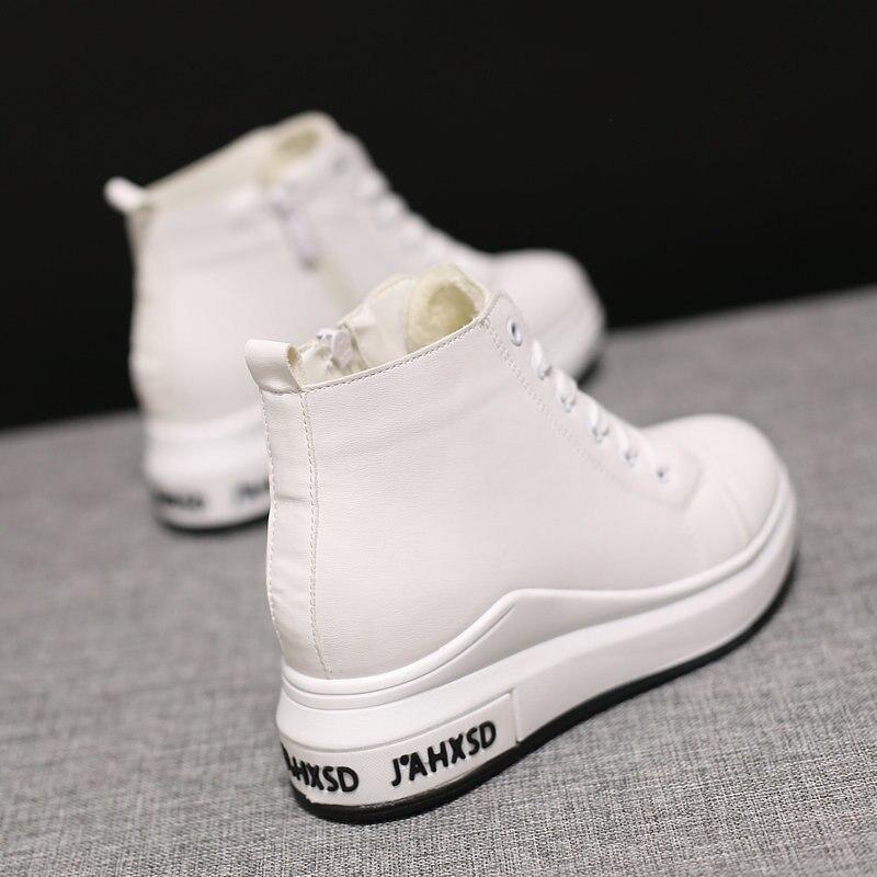 Noir 2018 Chaussures Velours De Plus Automne Femmes Des Net Augmentation Version Sauvage D'hiver Dans Casual La Rouge blanc Et Coréenne Vieux Nouvelle Les w1q0Awr
