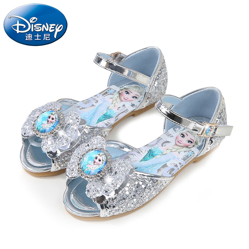 Children Girls Sandals,baby Frozen Flat Summer Shoes For Girls,kids Dancing And Party Shoe Rhinestone Bow Else Shoes Modern Techniques
