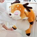 Yesfeier 95cm 1 pc kawaii cervos stuffedsoft pelúcia boneca bebê adorável sika cervos animal macio travesseiro brinquedo crianças presentes de aniversário
