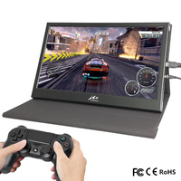 13.3 inch 2K Portable Mini Computer Monitor PC 2560*1600 HDMI Leather Stand PS3 4 Xbox360 1080P LCD LED Car Display Raspberry Pi