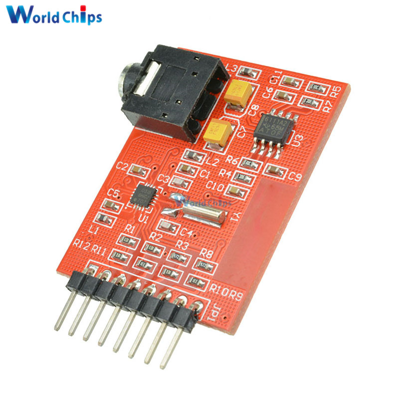 Si4703 RDS FM Radio Tuner Evaluation Breakout Board Module For Arduino AVR  PIC ARM Radio Data Service Filtering Carrier Module