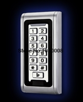 IP68 Keypad RFID 13 56mhz Access Control System Proximity Card Standalone 2000 Users Door Access Control