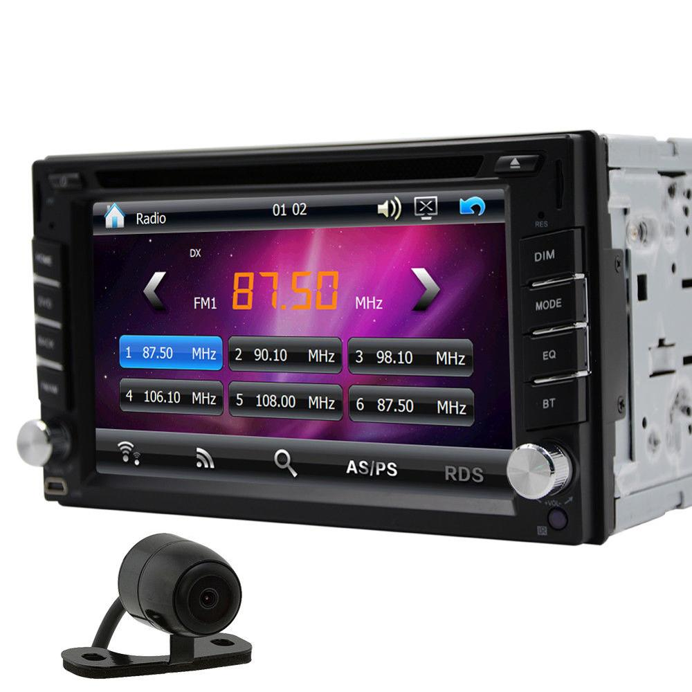 Eincar 7 Inch Double 2DIN Car DVD Player GPS Navigation Car Styling Touch Screen In Dash