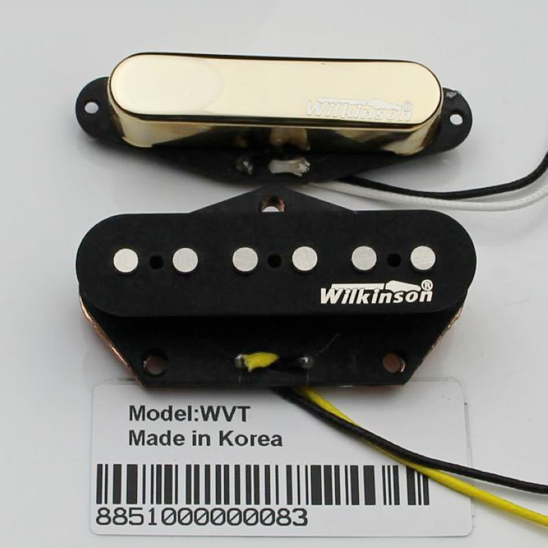 TL Wilkinson electric guitar pickups WVT neck&bridge pickups Gold free shipping new single wave electric guitar wilkinson bridge wvcsb in gold 8351
