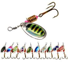 WLDSLURE 2 pz/lotto Spinner Bait 3.5g esca da pesca in metallo cucchiaio esche esca dura con ganci per la pesca alla carpa