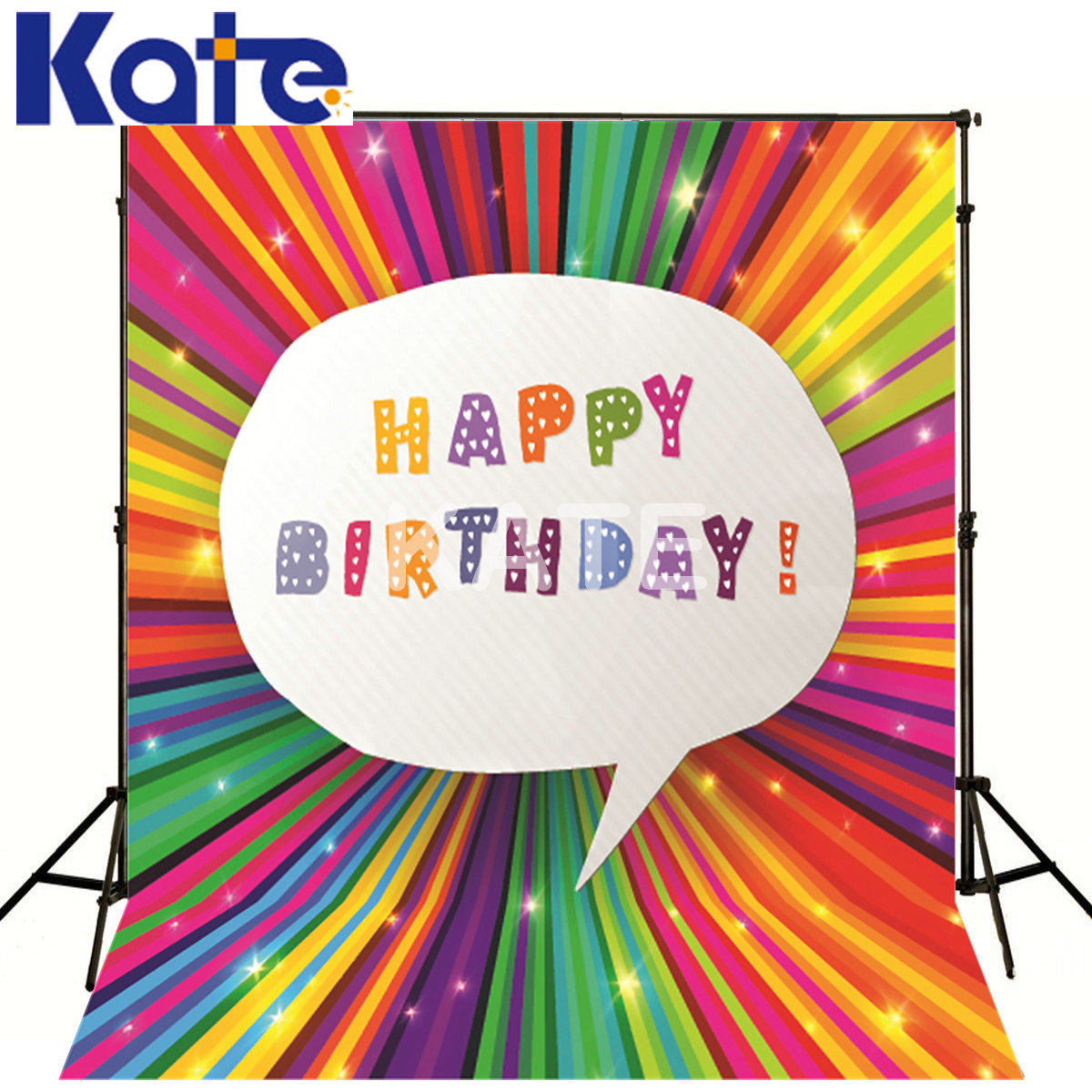 Kate Colorful Photography Backdrop Fotografia Happy Birthday For Children Kate Photography Studio Backgrounds our kate