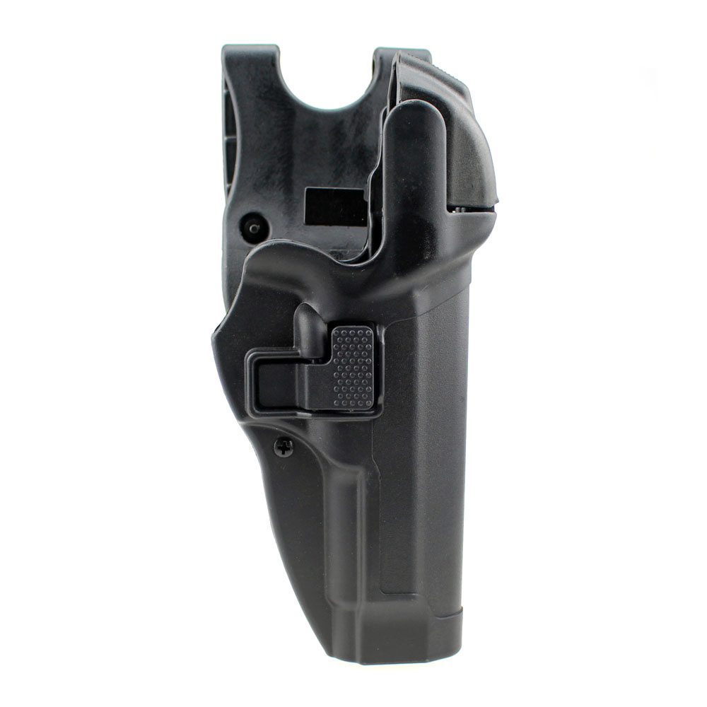 Tactical M92 Holster Military Concealment Level 3 Lock Right Hand Waist Belt Gun Pistol Holster for Beretta M9 M92 convenient quick release nylon plastic waist pistol holder for m92 black