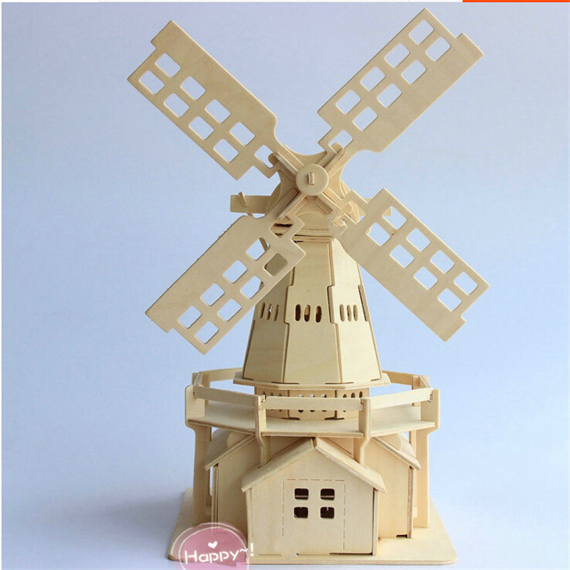 how to create a windmill model