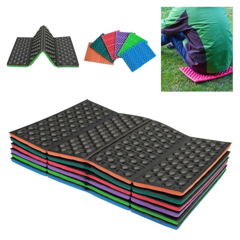 Soft Waterproof Camping Hiking Picnic Portable Cushion Seat Pad Outdoor Folding Camping Moistureproof Cushion Mattress Pad