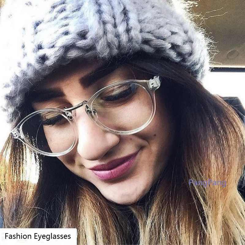 f36a4ac17fa ... 2018 Eyeglasses Frame Women Transparent Round Glasses Clear Frame  Spectacle Myopia Glasses Men Frame Nerd Optical ...