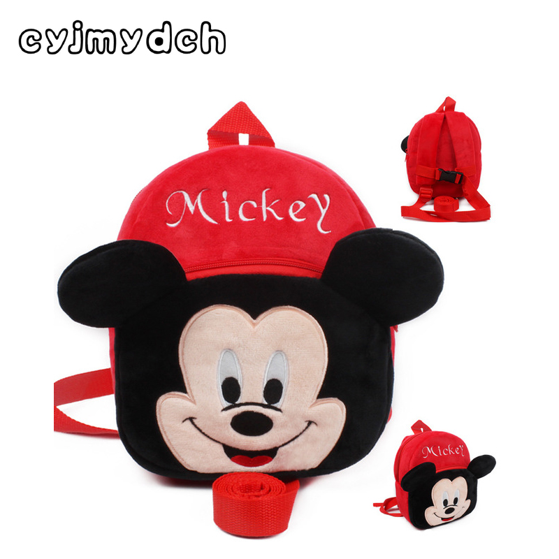 Cyjmydch Plush Backpack Stuffed Toys Dolls Bag Walking Backpack Anti-lost Bag Safety Baby Harness Children Backpack for 1-3Years