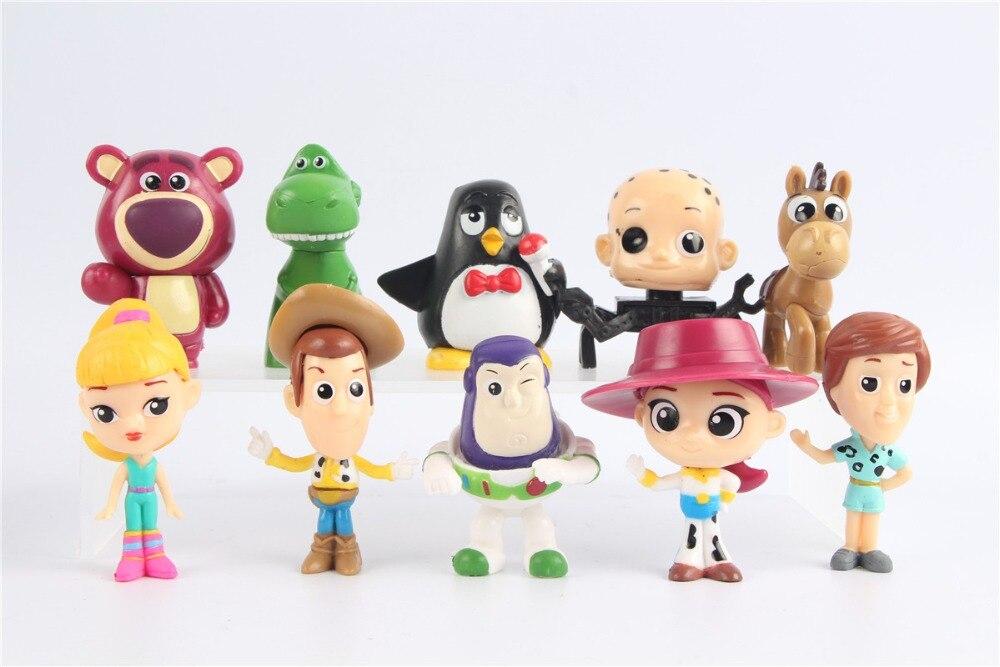 Best Buy 10pcs Lot Toy Story Figure Quite Woody Buzz Lightyear