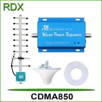 Cellphone cdma850 booster high gain 65dB mobile phone cdma repeater signal amplifier LTE Band 5 cellular cdma booster amplifier