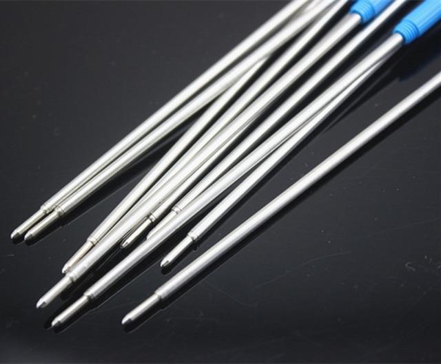 10pcs Jin Hao Ball Point Pen Refills for Pens, Fine Point, 0.5mm, (Black Ink) 1