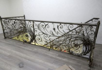 Decorative Iron Railings Wrought Iron Railings Offers Window | Decorative Wrought Iron Handrail | Forged Iron | Interior | Classic | Ornamental | Steel