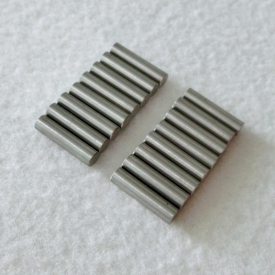 diy guitar pickup parts 18pcs pack magnetized alnico v single guitar pickup magnet rods stagger. Black Bedroom Furniture Sets. Home Design Ideas