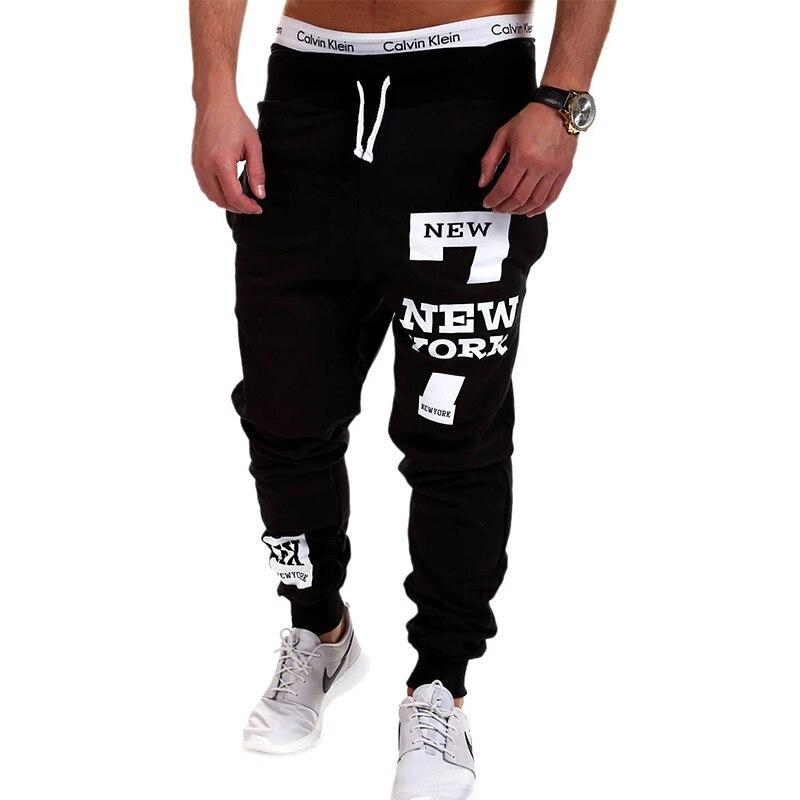 Для мужчин S джоггеры 2018 бренд мужской Мотобрюки Для мужчин Брюки для девочек Повседневные штаны для мужчин Треники Jogger черный большой Размеры 4xl kdbb