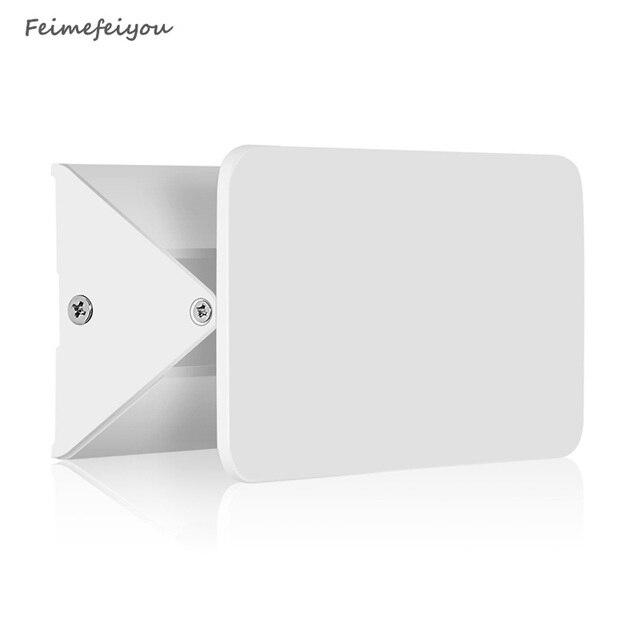 Nowa nowoczesna 5W 10W 16W biała elastyczna regulacja LED kinkiet elastyczna wysoka jasność nocna łazienka kryty oświetlenie ścienne