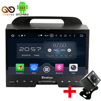 Sinairyu Big 10 Inch 2G 32G Mutilmedia Android 6 0 Octa Core Car DVD PC GPS