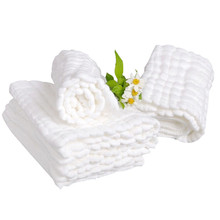 1 Piece Baby Bath Towels 100% Cotton Gauze Solid Soft New Born Baby Towels Baby
