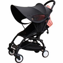 лучшая цена Baby stroller sunshade Universal Expand the sunshade area Baby cart accessories Suitable for YOYO YOYA stroller